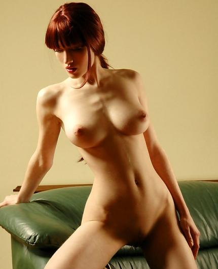Sexy redhead Jade A
