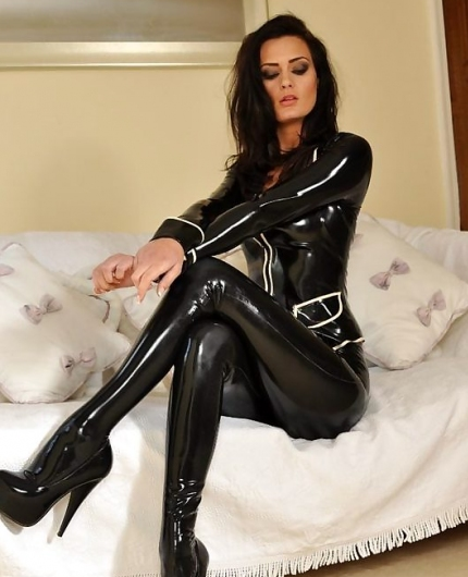 Emma Kate Dawson latex queen