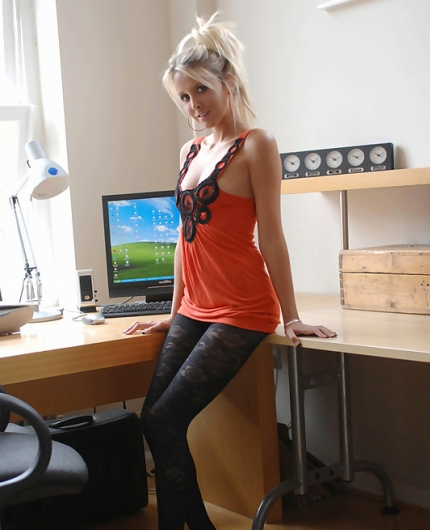 Rachel Louise hot secretary