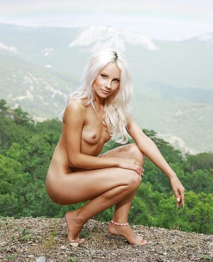 Adelia A naked
