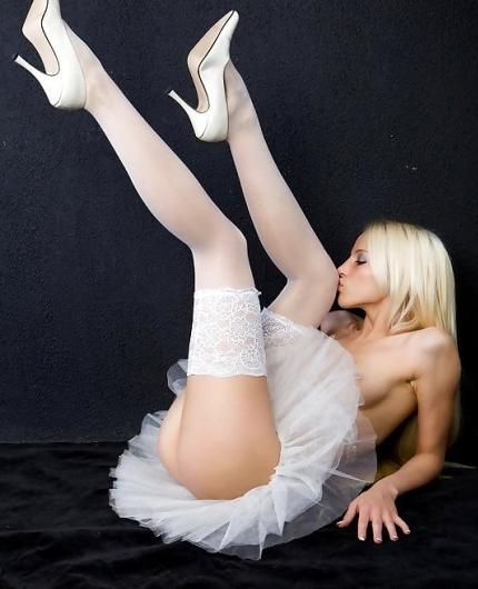 Blonde angel Alysha A