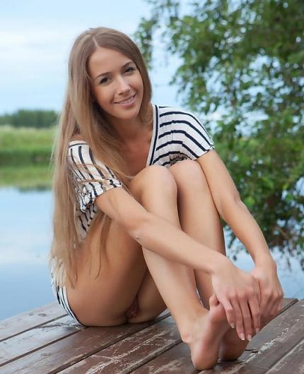 Lina Diamond by the lake