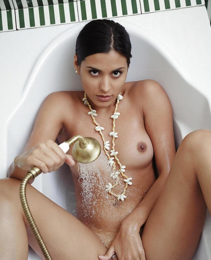 Belinda A bathroom fun