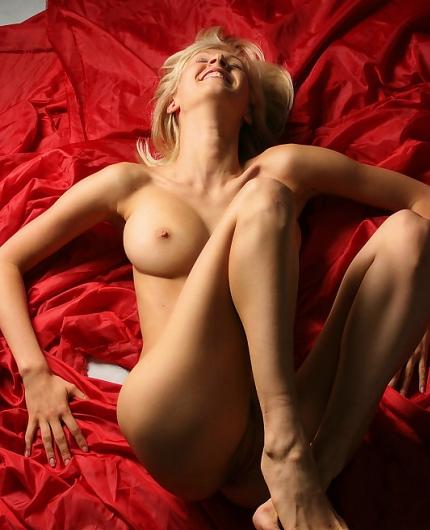 Natali C On Red