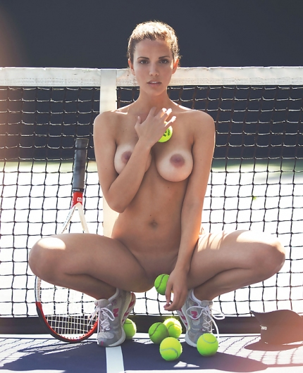 Katrina Elizabeth Match Point By Playboy