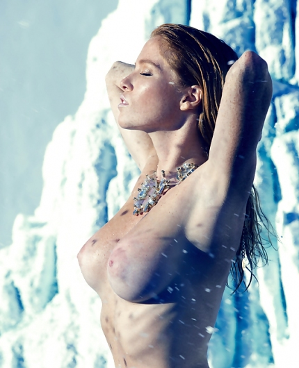 Elizabeth Ostrander Natural Beauty By Playboy