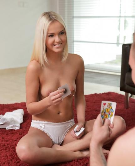 Joleyn Burst Strip Poker By Nubile Films