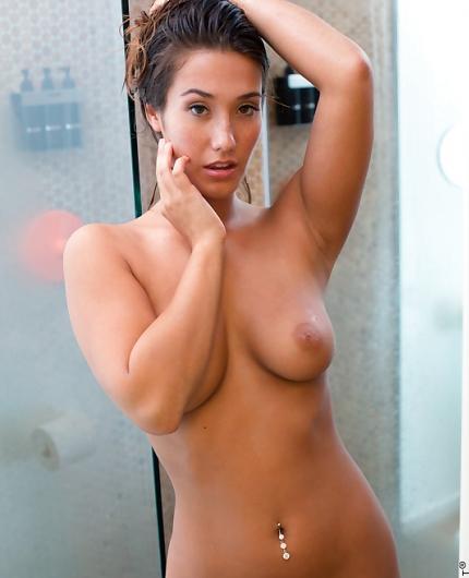 Eva Lovia Soapy Shower By Nubiles