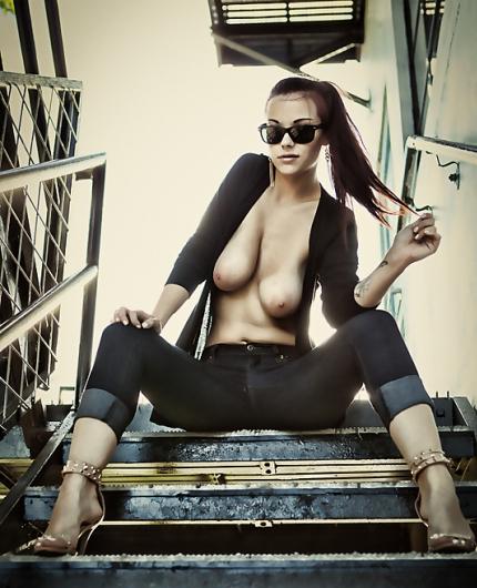 Elizabeth Marxs Staircase Strip