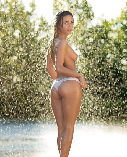 Cara Mell Summer Rain By Playboy