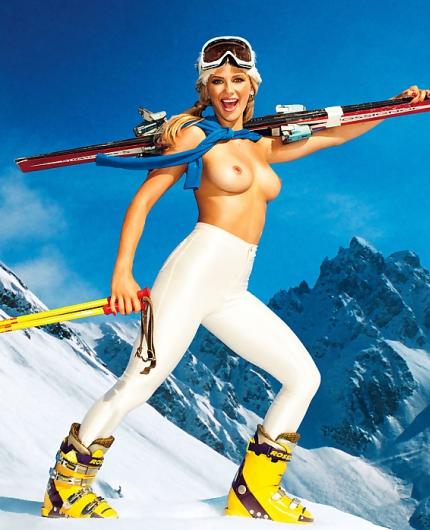 Audrey Aleen Allen Snow Patrol By Playboy