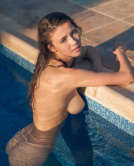 Mila Azul Summer Nudity By Alex Lynn