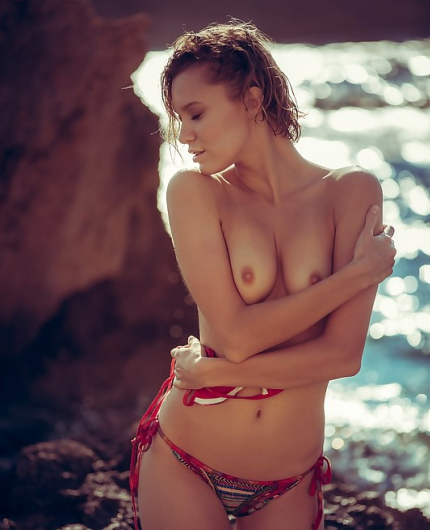 Chucha Shores At Sunset By Playboy