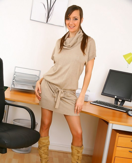 Nadia E In The Office By Only Secretaries