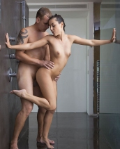 Ivy shower sex