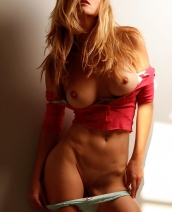 Heather Vandeven red top