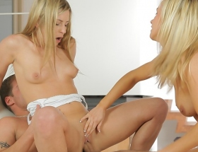 Bella Baby in threesome by Nubile Films