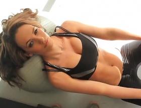 Anastasia Harris work out video