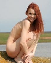 Cute redhead Lidiya