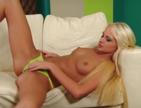 Ivana Sugar green panties