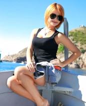 Amazing redhead Violla A