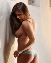 Andie Valentino sexy lingerie