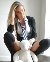 Becky Roberts Sexy Uniform
