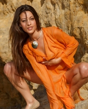 Lorena B In Orange