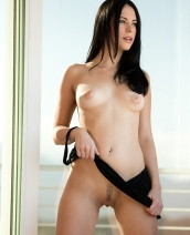 Veronica Radke In Black