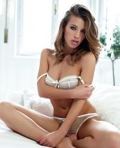 Katia Martin Morning Strip By Playboy