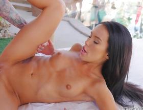 Megan Rain Spring Break Porn Video