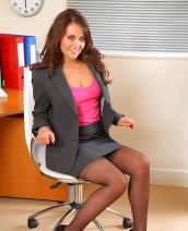 Zoe Alexandra Pink Top By Only Secretaries