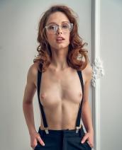 Clarice Im Girl With Glasses By Alex Lynn