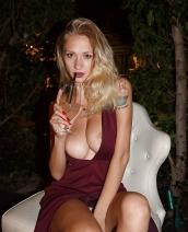 Natasha Legeyda Drinks At The Viceroy By Zishy