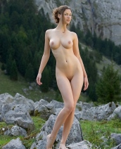 Susann outdoors
