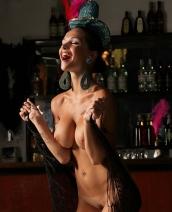 Katie Fey showgirl