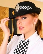 Carmen Gemini police uniform