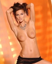 Ivette Blanche black lingerie